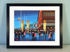 "JACK KAVANAGH ""STADIUM OF LIGHT"" SUNDERLAND FRAMED PRINT"