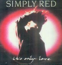 """7"""" SIMPLY RED/IT 's Only Love (D)"""