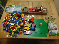 Lego City 7906 Fireboat  & Lego  4120 Fun and Cool Transportation INCOMPLETE