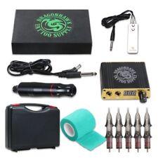 Dragonhawk Premium Cartridge Tattoo Kit Pen Rotary Machine Kuro Sumi Black New