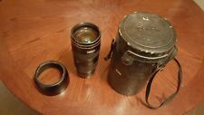 Canon Zoom Lens EF 80-200mm 1:2.8 L with Hood and Case