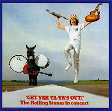 THE ROLLING STONES 'Get Yer Ya-Ya's Out' Remastered 180g Vinyl LP NEW SEALED