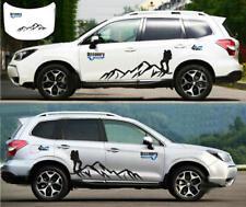 Graphics Mountain Climber Sticker Bonnet Decal For Subaru Forester RAV4 CR-V