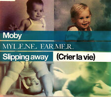 Mylène Farmer / Moby Maxi CD Slipping Away (Crier La Vie) - France (M/EX+)