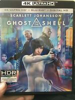 Ghost in the Shell: 2-Disc Set 4K Ultra HD + Blu-ray