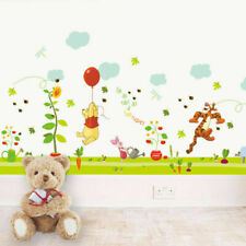 Winnie The Pooh Wall Stickers Home Decor Kids Boys Girls Room Nursery Sticker