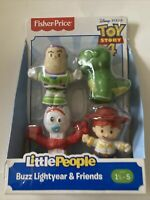 Fisher Price Little People Toy Story 4 - Buzz Lightyear & Friends