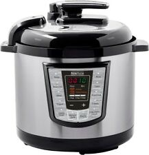 Electric Pressure Cooker Multi-function 6 Quarts 1000W Stainless Steel Yogurt UL