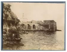 Algérie, Ancien phare  Vintage citrate print  Tirage citrate  8x11  Circa