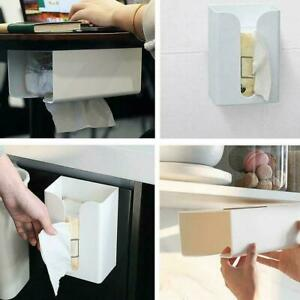 Wall Mounted Toilet Kitchen Tissue Box Paper Holder Convinience BEST 2021 W3X1