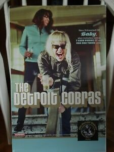 The Detroit Cobras Baby Tour Poster