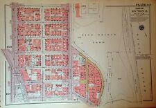 1955 Inwood High Bridge Park Manhattan Nyc G.W. Bromley Plat Atlas Map 12 X 17