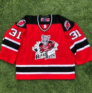 SP Albany River Rats AHL Minor Hockey STITCHED New Jersey Devils Gamer Jersey 58