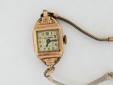 Vintage Bulova Rose Gold Filled Watch 6AP Wristwatch - 2634