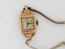 Vintage Bulova Rose Gold Filled Watch 6AP Wristwatch - 2634