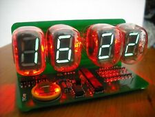 IV-22 VFD CLOCK WITH RED BACKLIGHT assembled NIXIE ERA [USB Powered]
