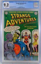 Strange Adventures #14 CGC 9.2 1951 White Pages Captain Comet
