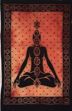 Tapestry Poster Small Seven Chakra Yoga Buddha Hippie Textile Throw Wall Art