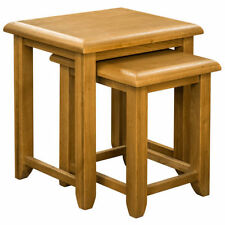 Square Traditional No Assembly Required 2 Nested Tables