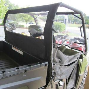 Seizmik Polaris Ranger Full Size 400 500 570 800 Rear Back Window Dust Stopper
