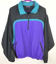 HOT ZONE Vintage 80s 90s Snowboard Jacket Lightweight Mens Size Medium Nylon
