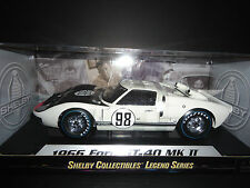 Shelby Collectibles Ford GT40 GT MKII 1966 Race #98 White SC415 1/18