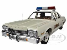 1974 DODGE MONACO 440 ILLINOIS STATE POLICE CAR 1/18 MODEL BY AUTOWORLD AMM1019