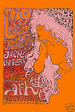 Psychedelic: Janis Joplin & Big Brother  * The Ark *  Concert Poster 1967