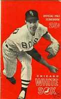 1965 Chicago White Sox baseball program