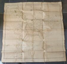 More details for 1830 original canvas map of the lowlands and fens of the county of lincoln
