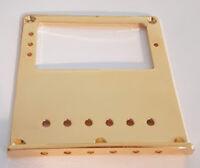 NEW Plaque de Bridge TELECASTER gold - humbucker - sans saddles - guitare tele