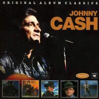 Johnny Cash - Original Album Classics (2018)  5CD Box Set  NEW  SPEEDYPOST