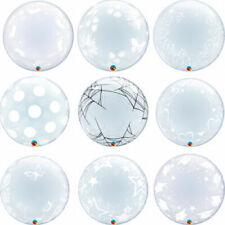 Globos burbujas de fiesta de corazón