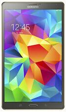 "Samsung Galaxy Tab S T705 Tablet 8.4"" 16GB 3GB Ram WiFi+4G Unlock Android Brown"