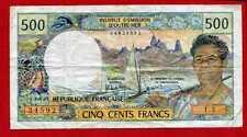 (Ref: T.3)  500 FRANCS PAPEETE  (TTB) 1985 NON DATÉ