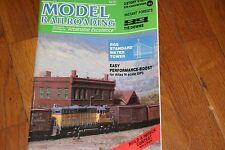 Model Railroading Magazine 06/1988 Good Shape