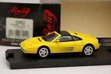 Bang 1/43 - Ferrari 348 TS Gialla