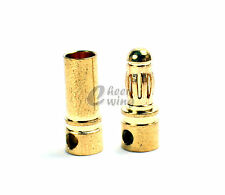 20 x 3.5mm Gold Bullet Connector Plug Male & Female for RC Battery ESC Motor US