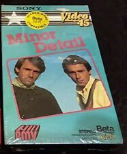 Sony Video 45 Beta Hi-Fi Tape Minor Detail Canvas of Life Hold On Why Take Again