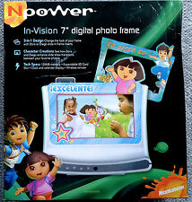 NPower Digital 7/SEVEN INCH Photo Frame Dora the Explorer/Diego NICKELODEON