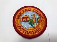 Far East Council Activities BSA Vintage Patch
