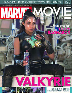 "MARVEL MOVIE COLLECTION #123 ""THOR RAGNAROK: VALKYRIE"" FIGURINE (EAGLEMOSS)"