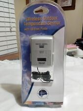 Wireless Outdoor Temperature Sensor Plus 10 ft Probe Sensor Remote Control