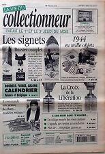 La Vie du Collectionneur n°61- Les signets Armée de chars Croix libération