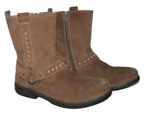 "kurze "" DOCKER`S "" Herren- Stiefel / Lederstiefel / Boots in braun Gr. 45"