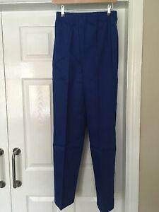Brooks Men's Work Warehouse Drivers Carers Elasticated Waist trousers Size XS
