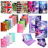 """Universal Leather Wallet Flip Smart Case Cover For 7"""" 8"""" 9"""" 10.1"""" Android Tablet"""
