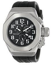 Swiss Legend 10542-01-WA Men's Trimix Diver Chronograph Watch Black New in Box!