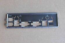 Supermicro IO I/O Shield for X9SCM, X9SCA, X8DTL-i, X8DTi, (MCP-260-00027-0N)