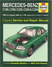 Haynes MERCEDES W202 C CLASS C180 C200 C220 C230 C250 Owners Manual Handbook